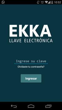 EKKA Manager poster