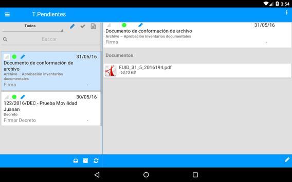 eSigna Mobile screenshot 8