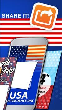 Free July 4 Greeting Cards apk screenshot