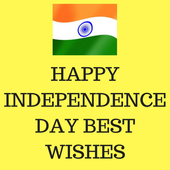 Independence day best wishes 2018 icon