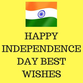Independence day best wishes 2018 poster