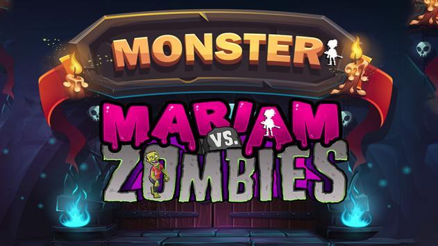 Mariam vs Zombies poster