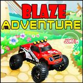Blaze Speed Monster Racing Car icon