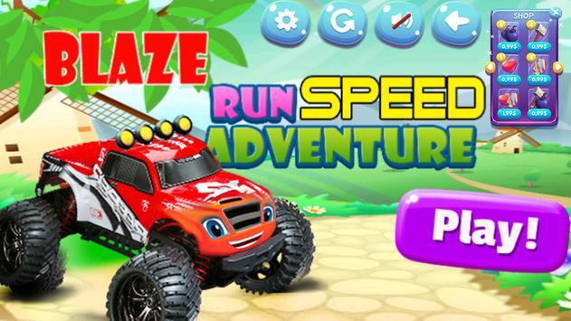 Blaze Speed Monster Racing Car screenshot 5