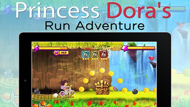 Princess Dora Biker Girl Hill Ride screenshot 15