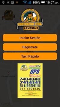 Taxis Cootrafun poster