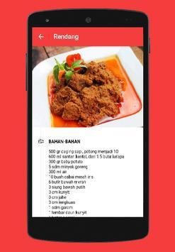 Delicious Padang Recipe screenshot 3