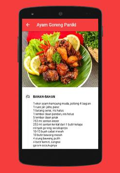 Delicious Padang Recipe screenshot 5