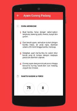 Delicious Padang Recipe screenshot 6