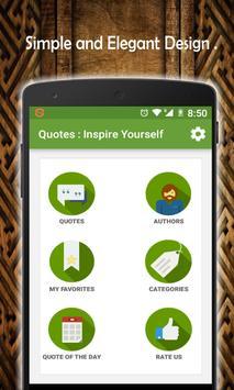 Quotes : Inspirational Quotes apk screenshot