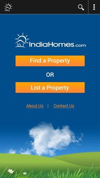 IndiaHomes Property Search App poster