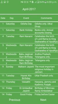 Indian Calendar screenshot 3