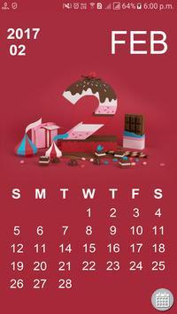 Indian Calendar poster