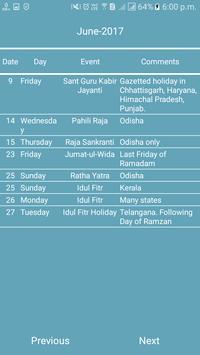 Indian Calendar screenshot 5