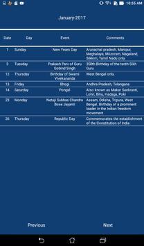 Indian Calendar screenshot 8