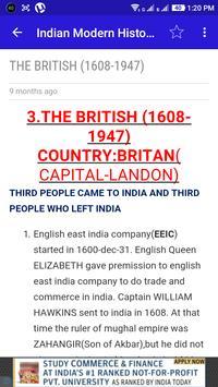 Indian History - Material apk screenshot