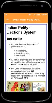 Learn Indian Polity (Politics) Complete Guide poster