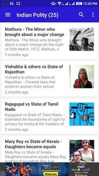 Indian Polity (Study Material) apk screenshot