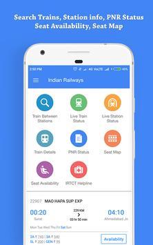 Indian Railway, Live Train Status & PNR Status screenshot 1