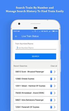 Indian Railway, Live Train Status & PNR Status screenshot 4
