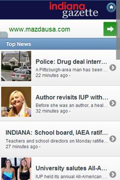 Indiana Gazette apk screenshot