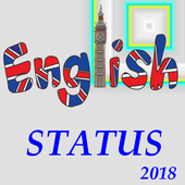 All Latest Best English Status Collection App 2018 icon