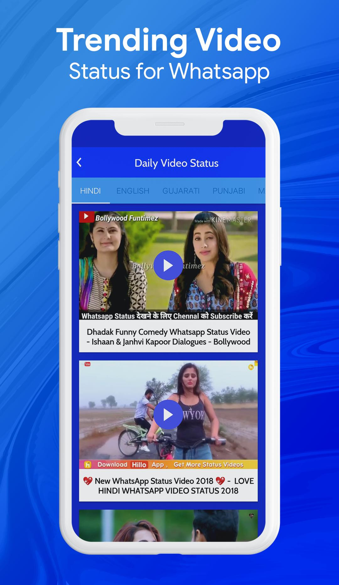 Daily New Video Status For What Apps For Android Apk Download