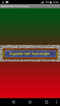 Gujarati Best Food Recipes poster