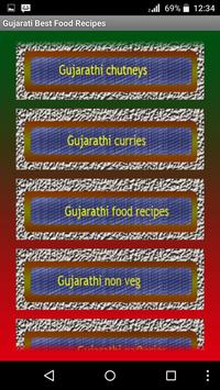Gujarati Best Food Recipes screenshot 2
