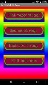 Hindi Melody Hit Songs poster
