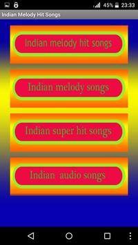 Indian Melody Hit songs poster