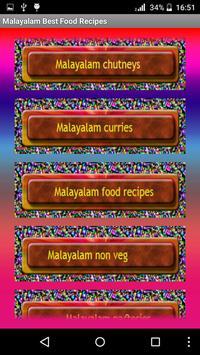 Malayalam Best Food Recipes screenshot 2