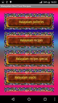 Malayalam Best Food Recipes screenshot 3