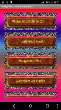 Malayalam Best Food Recipes screenshot 4