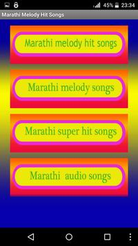 Marathi Melody Hit Songs poster