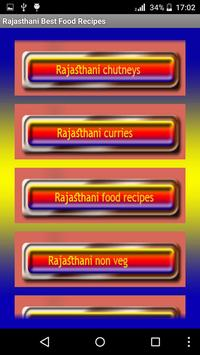 Rajasthani Best Food Recipes apk screenshot