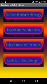 Rajasthani Melody Hit Songs poster
