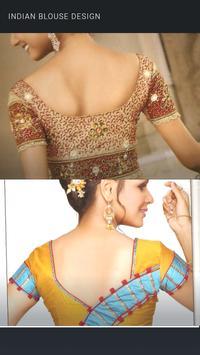 Modern Indian Blouse Design poster