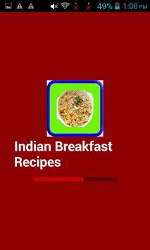 Indian Breakfast Recipes apk screenshot