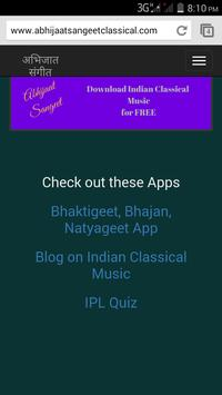 Indian Classical Music poster