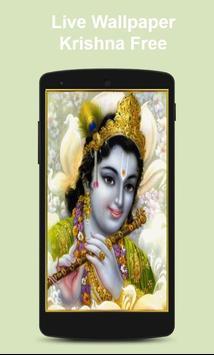 Live Wallpaper Krishna Free poster