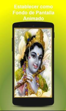 Live Wallpaper Krishna Free screenshot 1