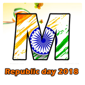 Indian Flag Letter Wallpaper 2018 icon