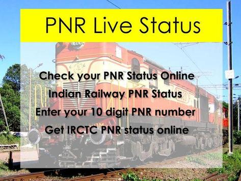Indian Rail Pnr Status screenshot 1