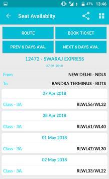Indian Rail Train Time Table IRCTC PNR Live status screenshot 5