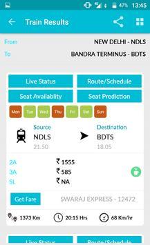 Indian Rail Train Time Table IRCTC PNR Live status screenshot 2