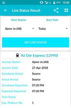 Indian Rail Train Time Table IRCTC PNR Live status screenshot 3