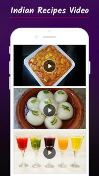 Indian Recipes Video 2018 screenshot 2