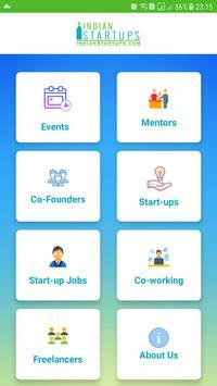 Indian Startups poster