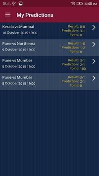 Indian Football Prediction screenshot 3
